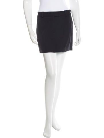Reed Krakoff Wool Mini Skirt w/ Tags None