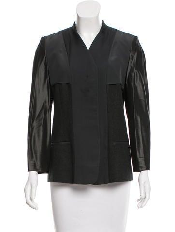 Reed Krakoff Long Sleeve Wool Jacket None