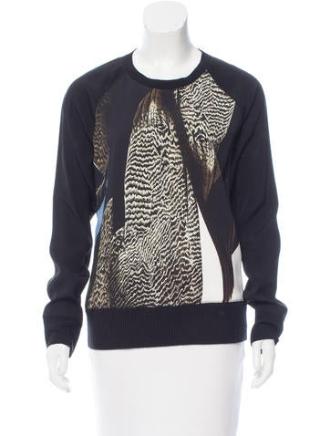 Reed Krakoff Printed Long Sleeve Top None
