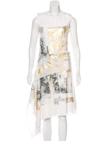 Reed Krakoff Silk Midi Dress w/ Tags None