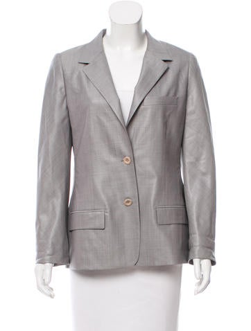 Reed Krakoff Tailored Virgin Wool Blazer None