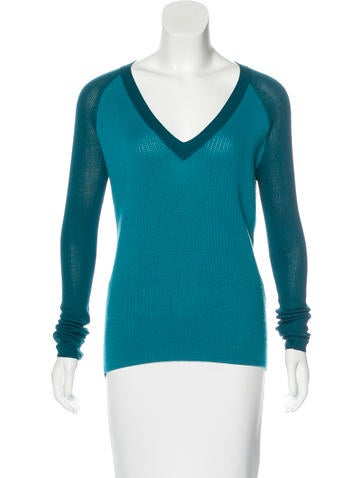 Reed Krakoff Wool Knit Sweater None