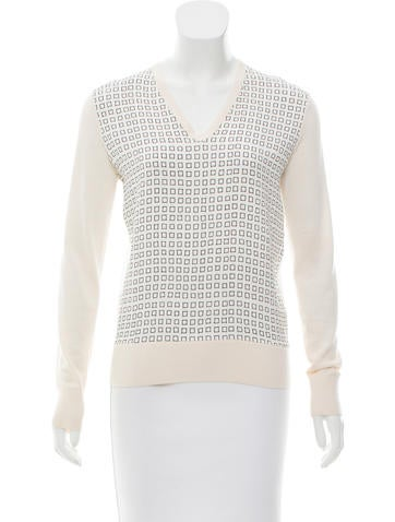 Reed Krakoff Printed Knit Top None