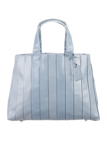 Reed Krakoff Ribbed Leather Tote None