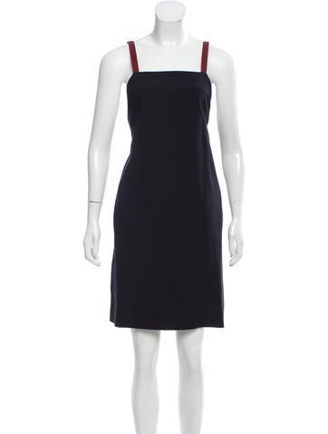 Reed Krakoff Virgin Wool Apron Dress w/ Tags None