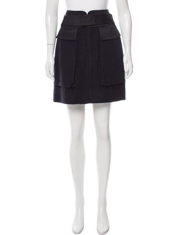 Reed Krakoff Wool Bouclé Skirt w/ Tags None