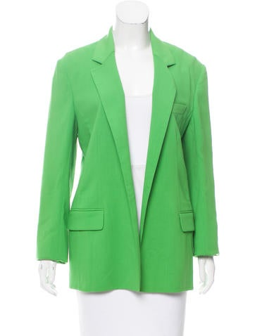 Reed Krakoff Open Front Wool Blazer w/ Tags None