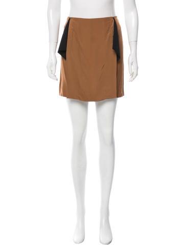 Reed Krakoff Knit Mini Skirt None