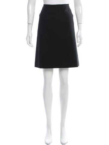 Reed Krakoff Wool Knee-Length Skirt w/ Tags None