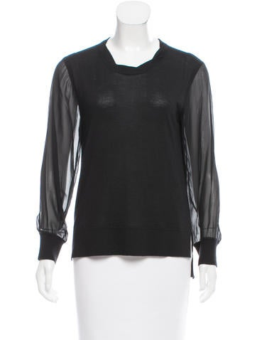 Reed Krakoff Cashmere & Wool-Blend Sweater None