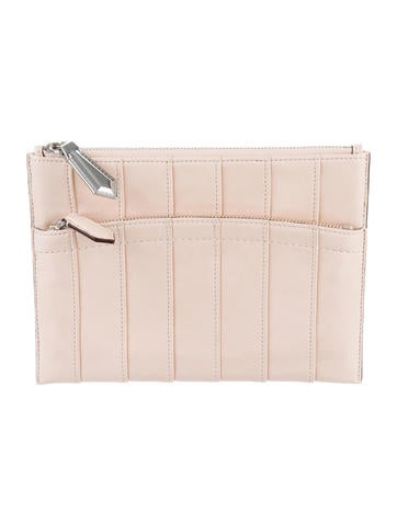 Reed Krakoff Pleated Leather Pouch None