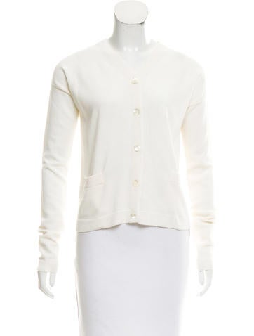 Reed Krakoff Long Sleeve Knit Cardigan None