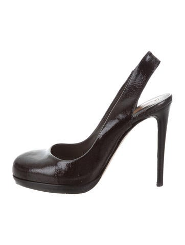 really cheap shoes online buy cheap best prices Reed Krakoff Glitter Slingback Pumps great deals online 3aLilivjb5