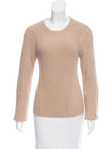 Reed Krakoff Rib Knit  Sweater None