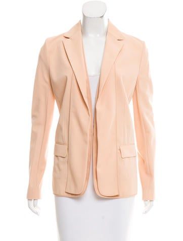 Reed Krakoff Notch-Lapel Wool Blazer None