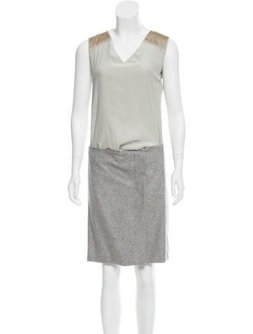 Reed Krakoff Sleeveless Silk Dress w/ Tags None