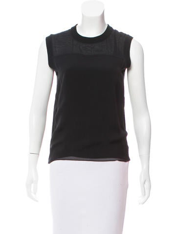 Reed Krakoff Cashmere & Wool Top None