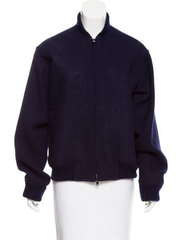 Reed Krakoff Woven Bomber Jacket None