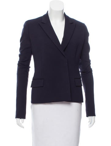 Reed Krakoff Peak-Lapel Wool Jacket None