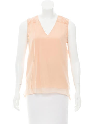 Reed Krakoff Silk Sleeveless Top w/ Tags None