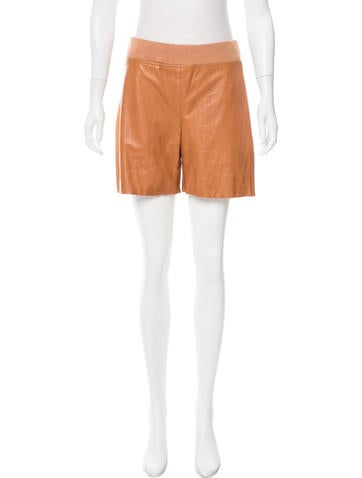 Reed Krakoff Textured Mid-Rise Shorts None