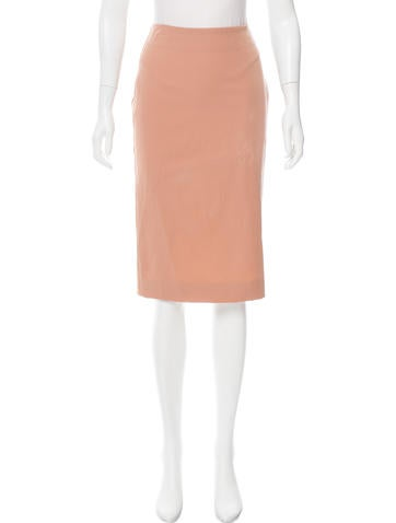 Reed Krakoff Colorblock Pencil Skirt None