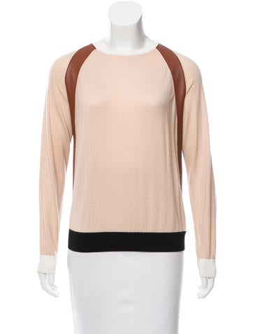 Reed Krakoff Cashmere-Blend Top None