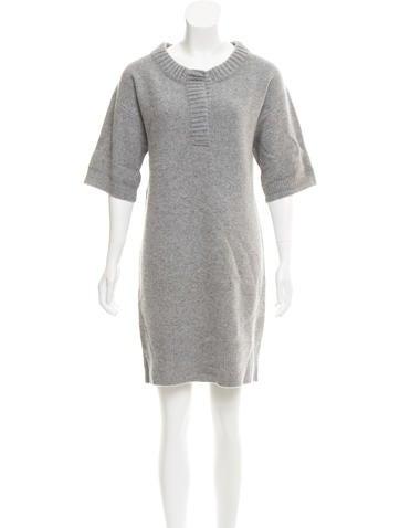 Reed Krakoff Sweater Mini Dress None