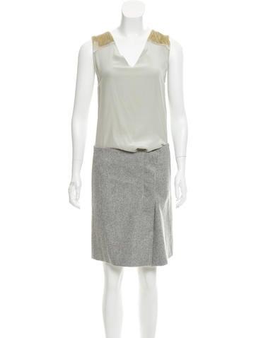 Reed Krakoff Wool & Silk Dress None