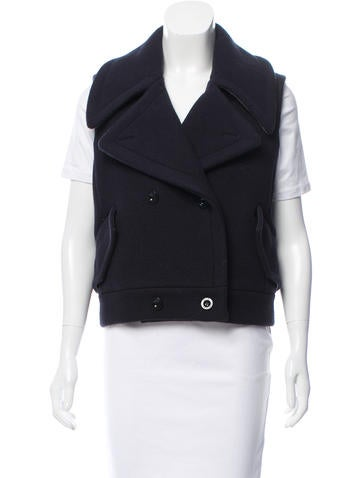 Reed Krakoff Double-Breasted Wool Vest w/ Tags None