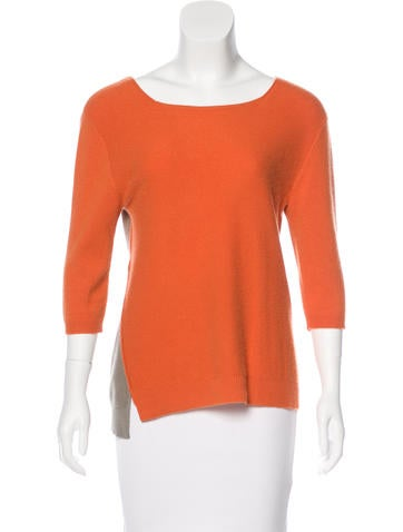 Reed Krakoff Knit Cashmere Top None