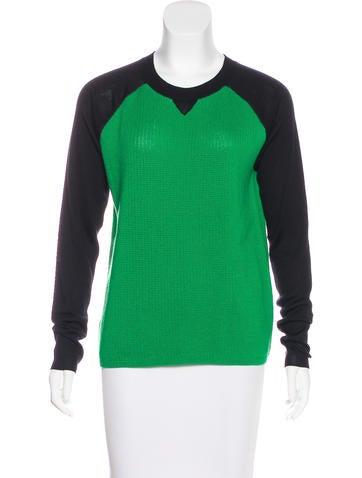 Reed Krakoff Raglan Merino Wool Sweater None