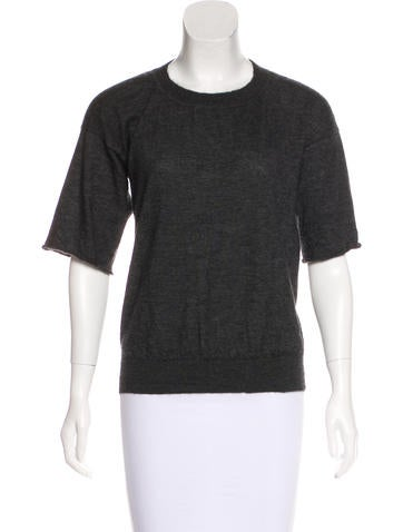 Reed Krakoff Cashmere Knit Top None