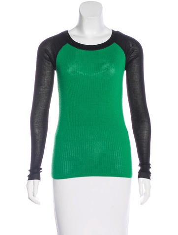 Reed Krakoff Wool Colorblock Sweater None