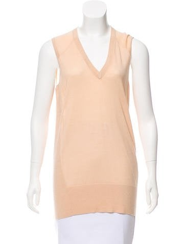 Reed Krakoff Sleeveless Knit Trim None