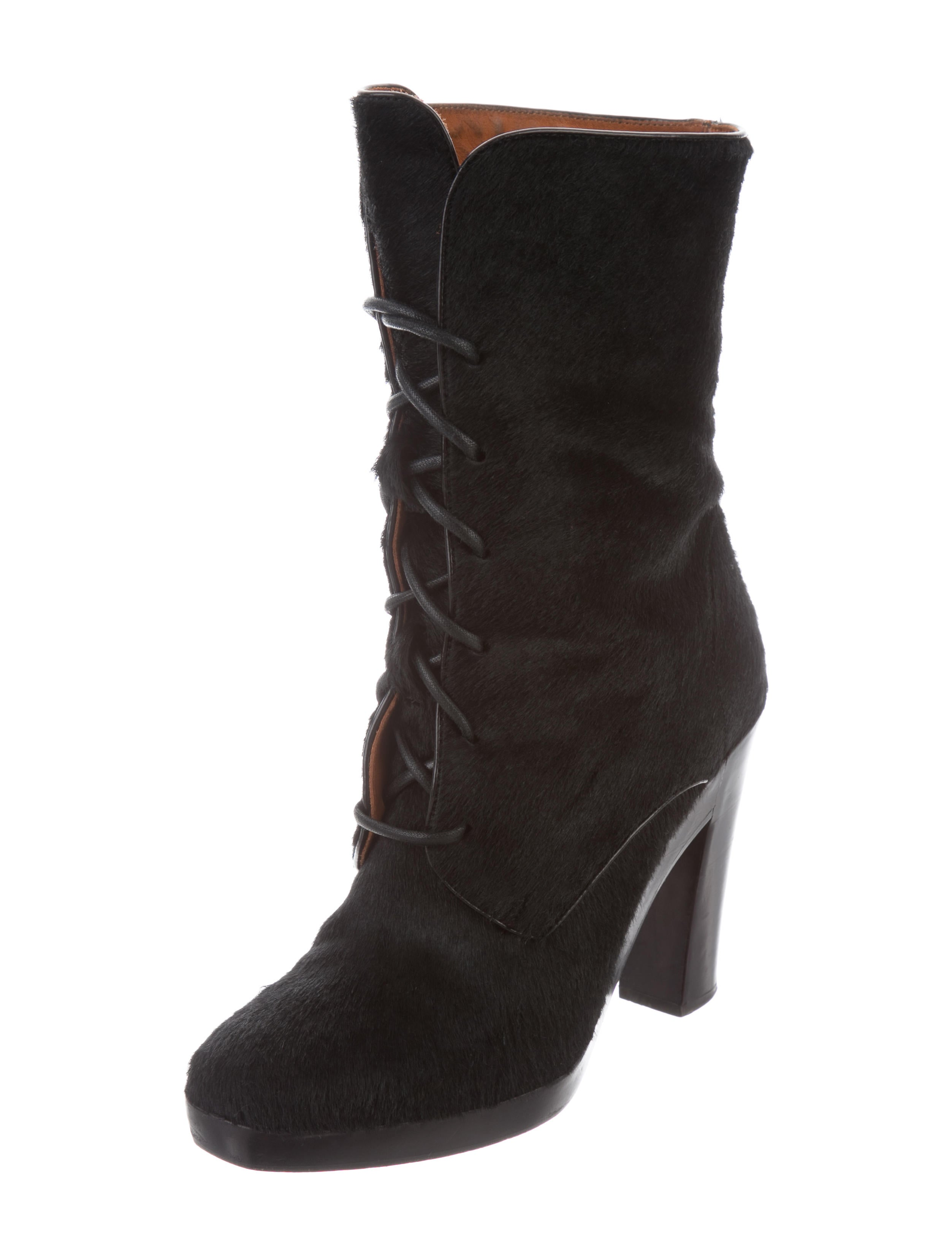 outlet new cheap sale enjoy Reed Krakoff Ponyhair Ankle Boots 5gFtvm