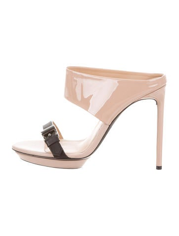 Reed Krakoff Buckle-Accented Cutout Sandals outlet amazing price jHiSW