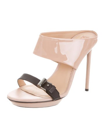Reed Krakoff Buckle-Accented Cutout Sandals wide range of online cheap sale discount free shipping wide range of ye1UdeUFGQ