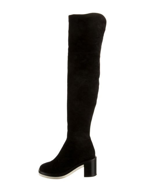 Reed Krakoff Suede Over-the-Knee Boots Black