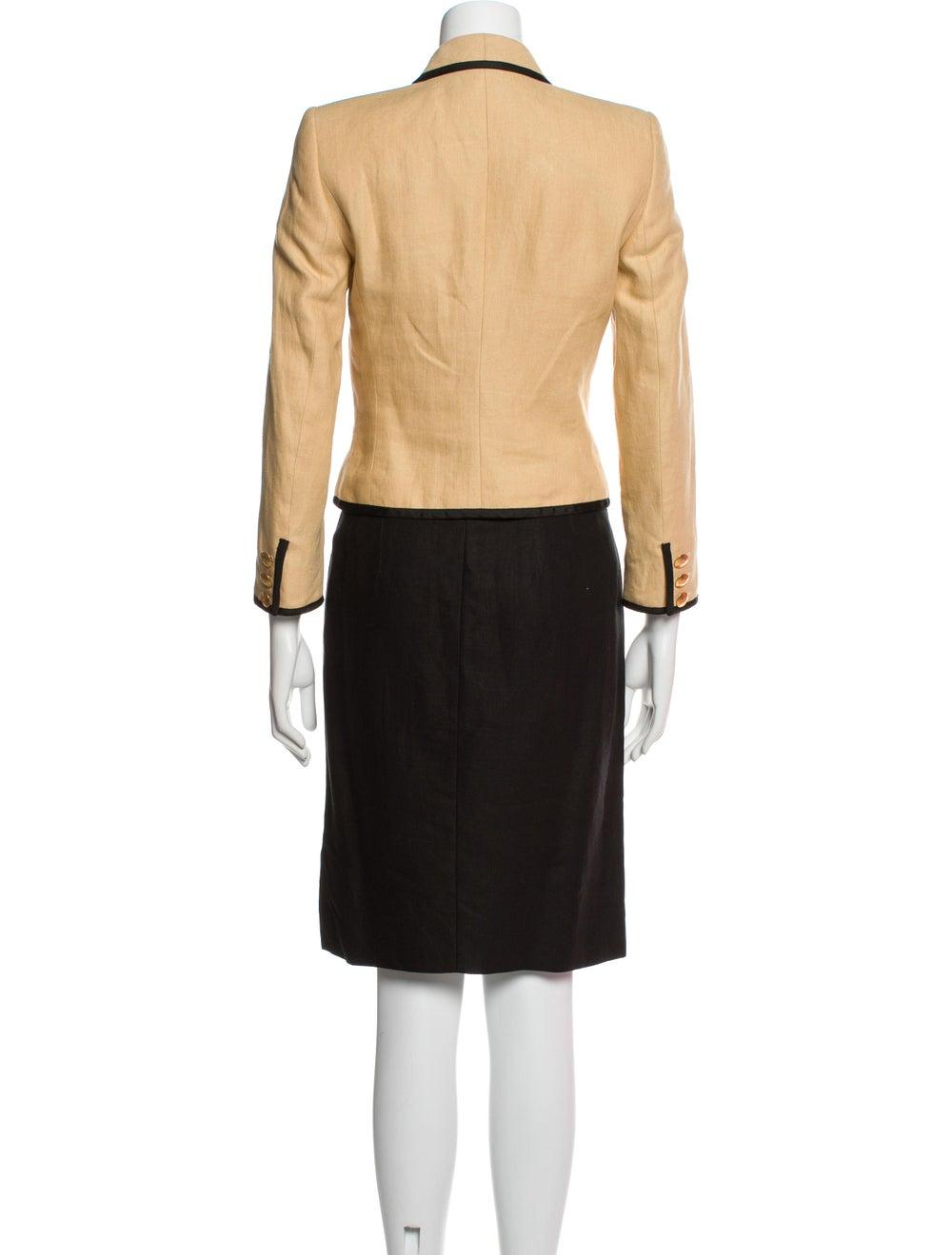 Rena Lange Vintage Linen Skirt Suit - image 3