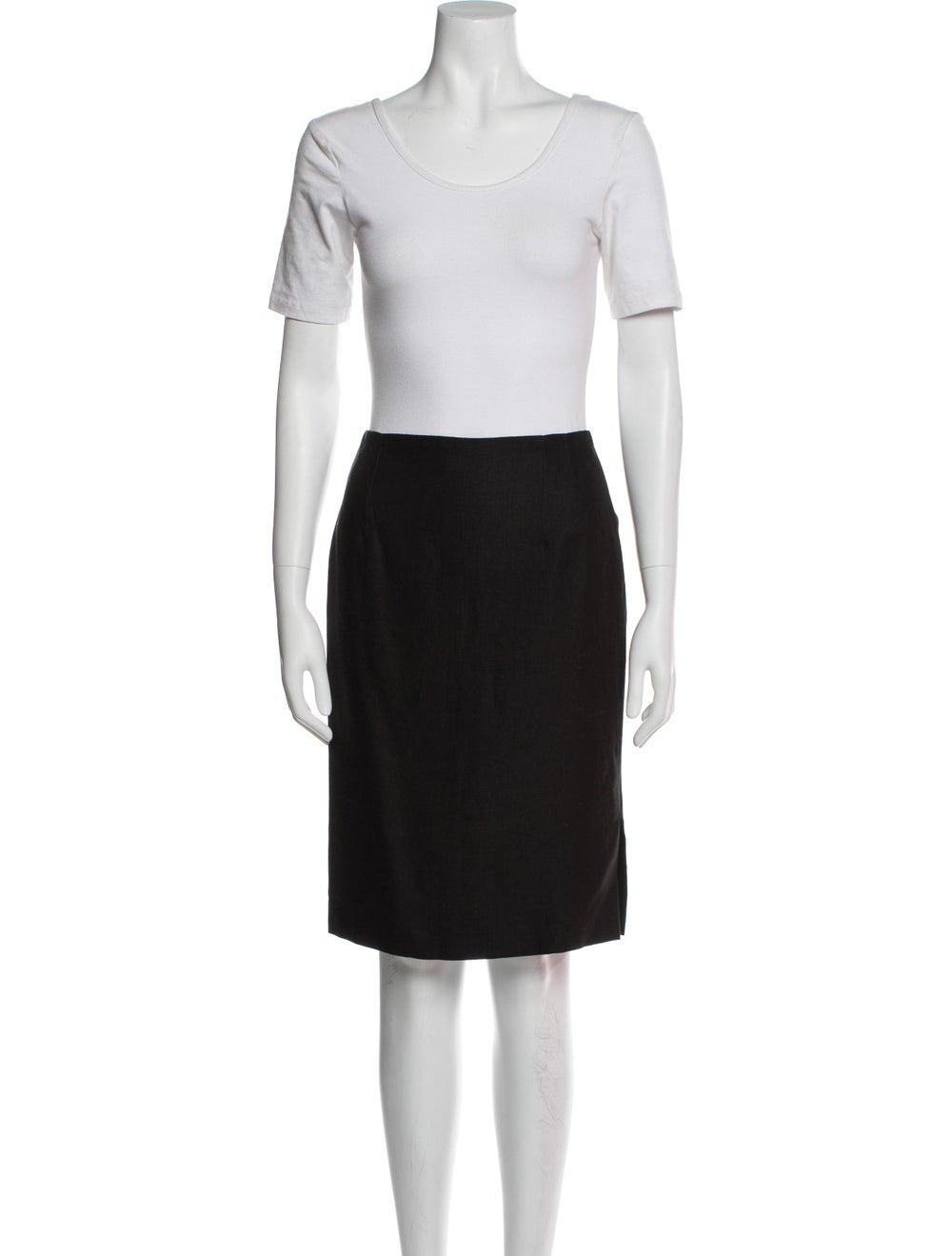 Rena Lange Vintage Linen Skirt Suit - image 4