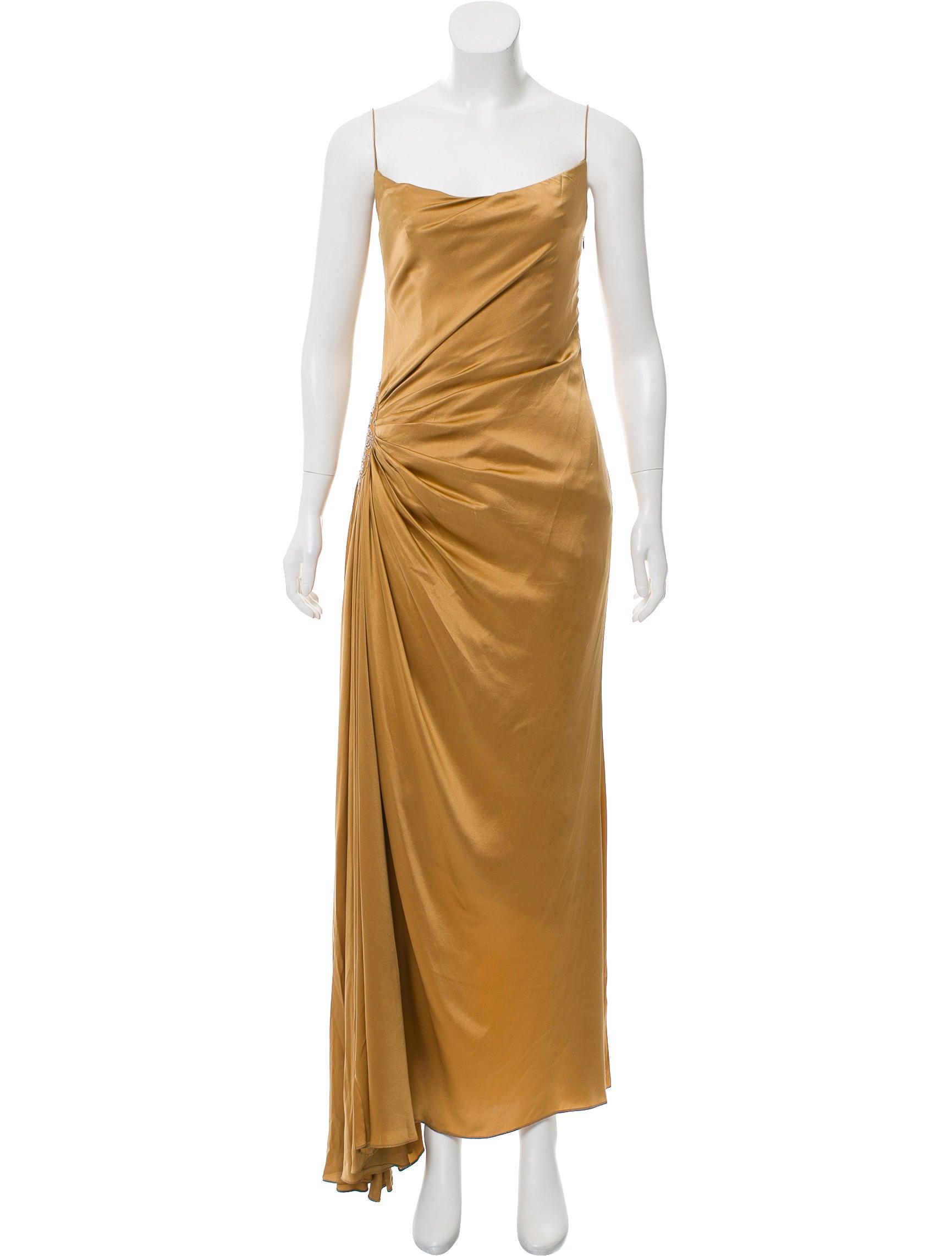Reem Acra Sleeveless Evening Dress - Clothing - REM20340 | The RealReal