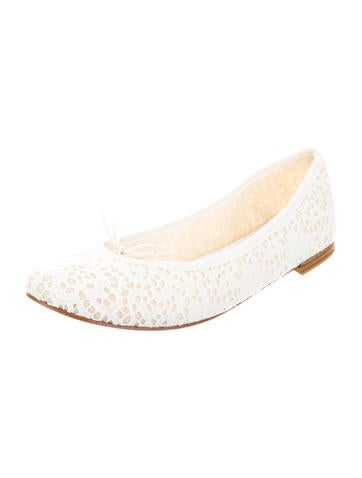 Lace Ballet Flats w/ Tags
