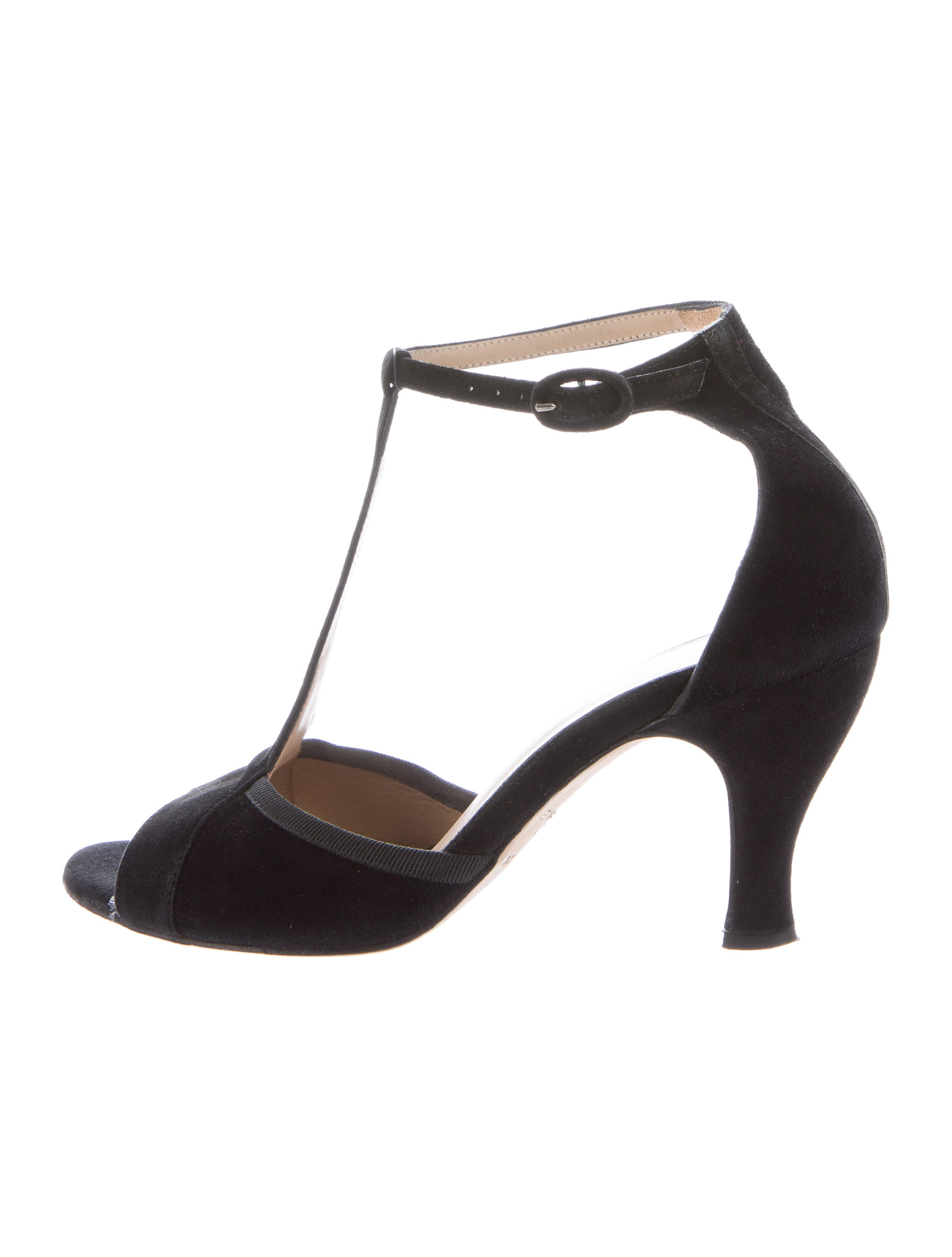 repetto suede t strap pumps shoes rep20951 the realreal. Black Bedroom Furniture Sets. Home Design Ideas