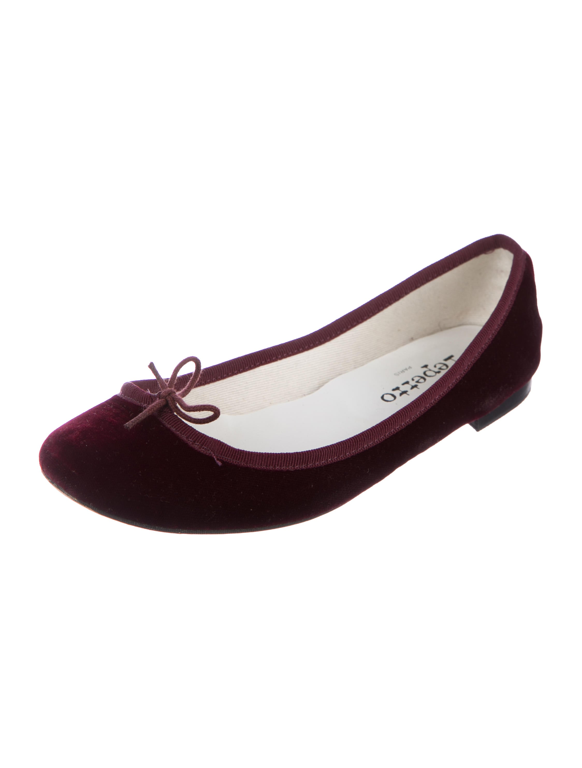 Repetto Velvet Round-Toe Loafers shopping online free shipping low shipping fee cheap price outlet store cheap online discount cost PgAFYcD