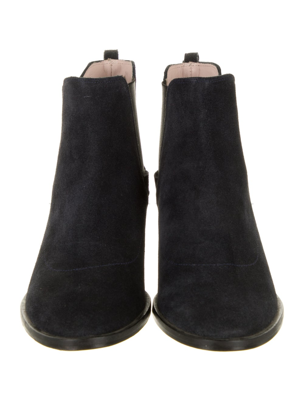Repetto Suede Chelsea Boots Blue - image 3