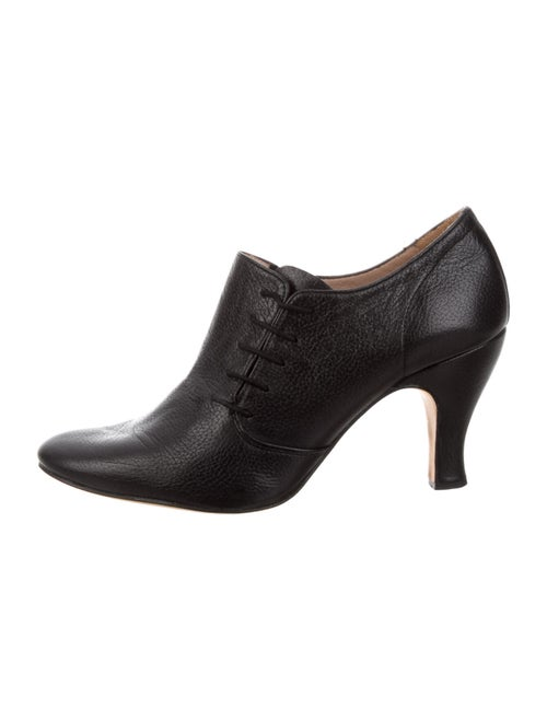 Repetto Leather Boots Black