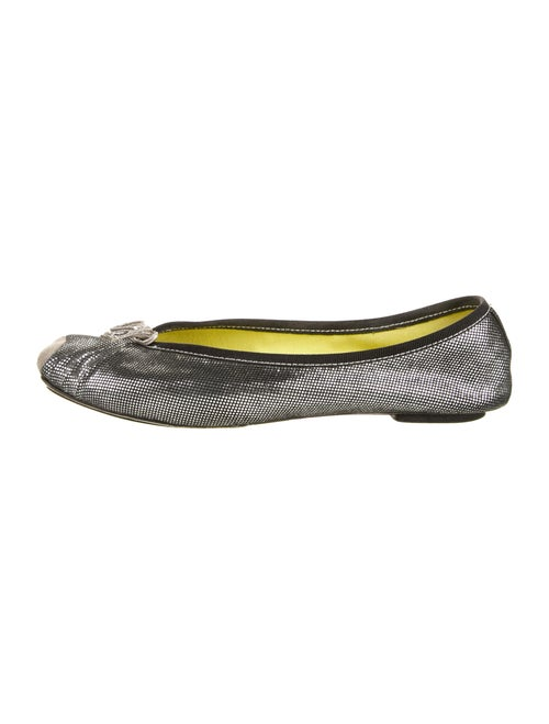 Repetto Leather Ballet Flats Metallic - image 1