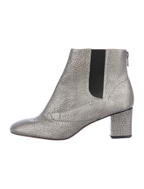 Repetto Leather Chelsea Boots Grey