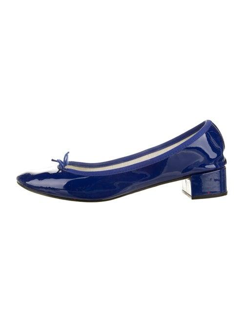 Repetto Bow Accents Pumps Blue